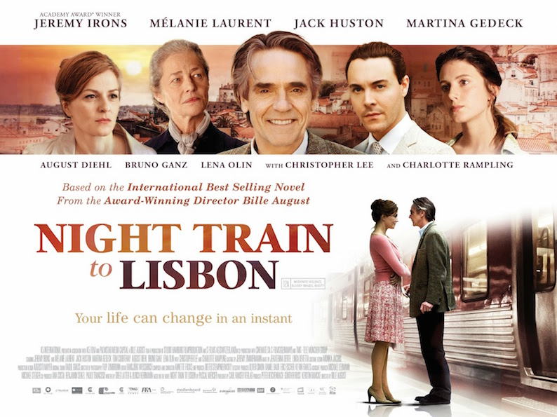 Night Train To Lisbon Trailer